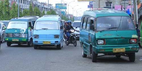Tarif Angkot di Pekanbaru Mulai Naik 25 Persen