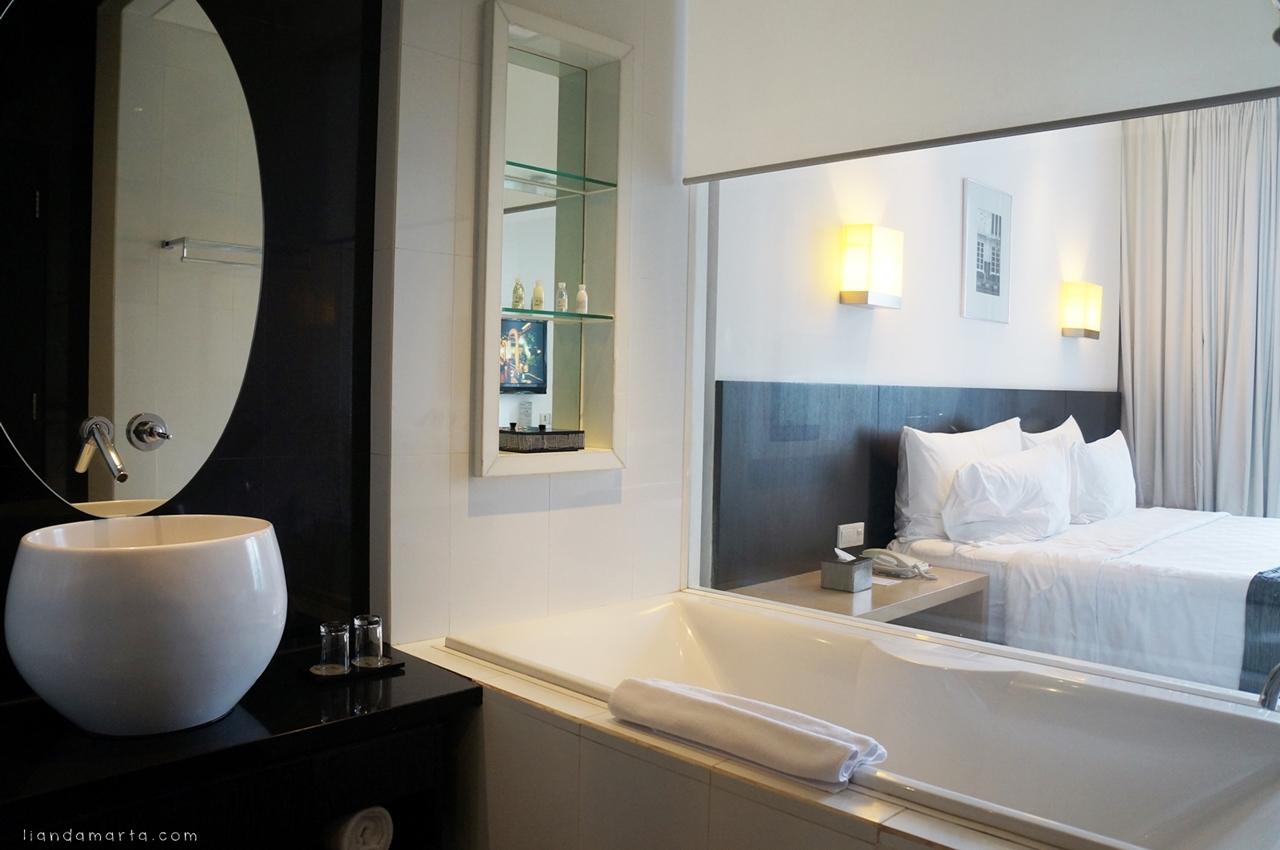 Menikmati service super excellent di padma hotel bandung for Dekor kamar hotel di bandung