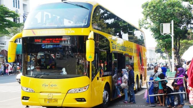 Wisata Gratis Keliling Ibukota dengan TransJakarta