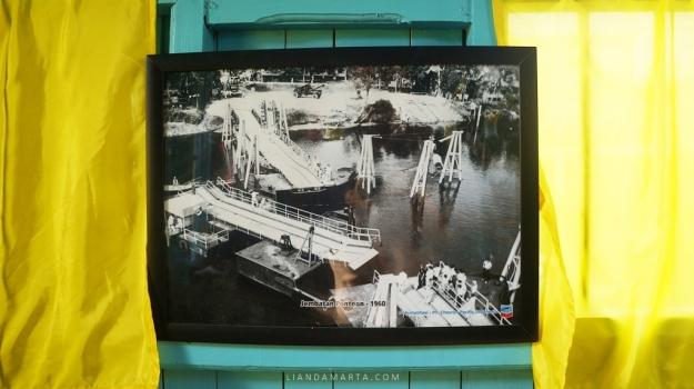 Jembatan Pontoon Pekanbaru 1960