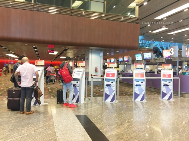 Self check in jetstar changi airport
