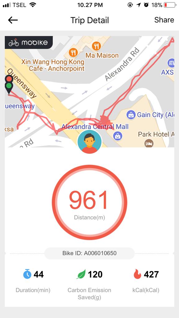 Maps Mobike