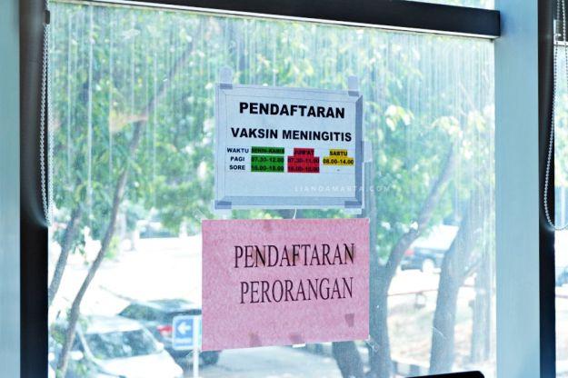 Jadwal Vaksin Meningitis di RSUP Fatmawati