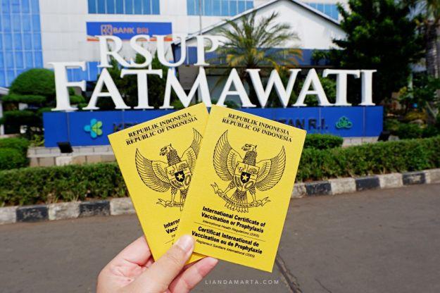 Suntik Vaksin Meningitis di RSUP Fatmawati