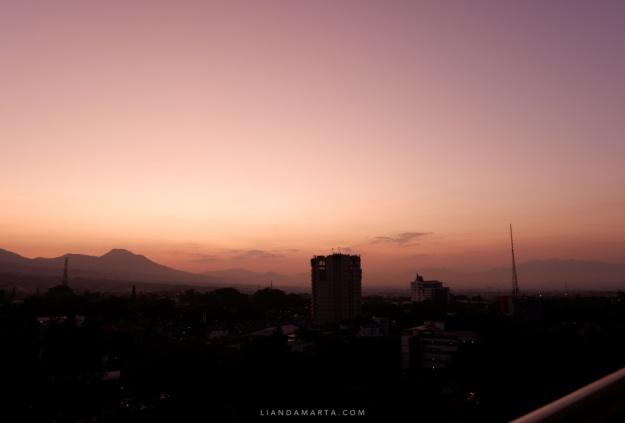 View dari Airbnb Bandung